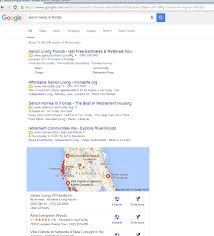Florida Google Map by Google Surprises Us Again Why Senior Living And Housing Marketers
