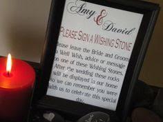 Wishing Rocks For Wedding Wishing Stones Wedding Guest Book Sign Etsy Shop Pinterest