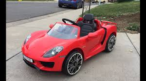 porsche 918 red i bought a porsche 918 costco unboxing u0026 review youtube