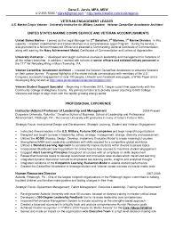 Resume For Military Resumes For Veterans Veteran Resume Help Ssays For Sale Veteran