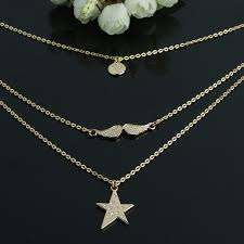 chain necklace gold designs images 2017 latest design most popular multilayer gold chain necklace jpg