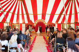 circus tent rental why wedding tents look nothing like a trip to the circus lakes