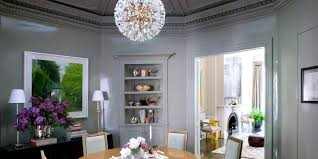 Lighting Over Dining Room Table by White Calm And Luxurious Dining Room Lighting Sandcore Net