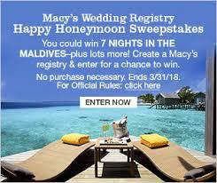 wedding vacation registry wedding registry bridal registry macy s