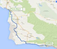 Solvang Map Mike And Tae Do Big Sur Adventure Rider