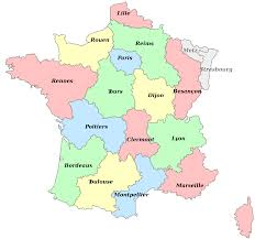 Lille France Map by