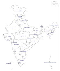 Blank Map Of Bc by How To Draw Indian Map On A Chart Brainly In