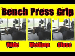 Ideal Bench Press Weight Best Bench Press Grip How Wide Should You Grab The Bar Youtube