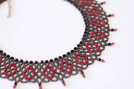 beaded necklace patterns images Beading patterns beading tutorials beading tutorials and jpg