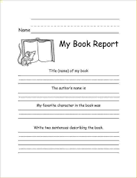 college book report template 25 3rd grade book report template images 3rd grade biography