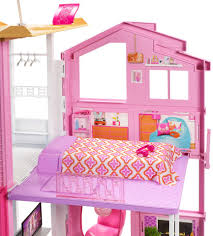 barbie pink passport 3 story townhouse toys