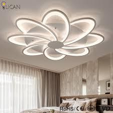 luminaire plafond chambre lican lustre de plafond moderne plafonniers led salon chambre