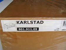 Orange Ikea Sofa by Karlstad Cover Ebay