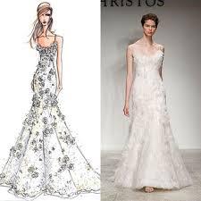 wedding gown designers designer wedding gowns from sketch to dress head2heels