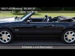 1993 mustang lx for sale 1993 ford mustang lx 5 0 2dr convertible for sale in vinelan