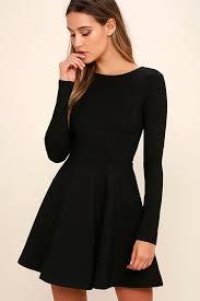 sleeve dress black dresses black dress sleeve dress skater dress