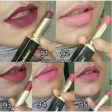 Lipstik Purbasari Nomor 90 3pcs purbasari matte paket hemat purbasari colour matte 81 90