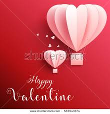 valentines day for invitation card valentines day balloon stock vector 552750508