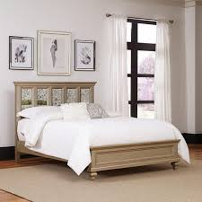 Queen Mattress Frame Home Styles Bedford Black Queen Bed Frame 5531 500 The Home Depot