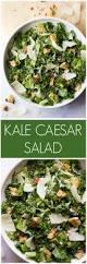 kale caesar salad little broken