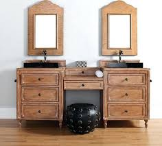 Bathroom Makeup Vanities Vanities Bath Vanity With Makeup Station Double Sink Vanity With