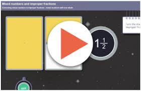 understanding fractions 4 mixed numbers and improper fractions by