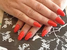 gel nails with tiger blossom gel polish nail designs for you