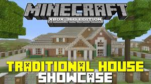 Traditional House Minecraft Xbox 360 Traditional House Tour W Gamesgaloreandmore