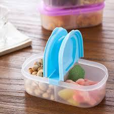 plastique cuisine 2 pcs lote récipient de nourriture en plastique 2 grille cuisine