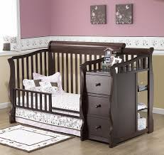 Graco Convertible Crib Instructions by Baby Crib With Changing Table Attached Canada Cribs Decoration