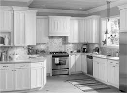 Two Toned Painted Kitchen Cabinets Affordable Interior Decorating Kitchen Ideas With Inspiring White