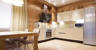 plancher cuisine bois oser poser du plancher sur les murs déconome