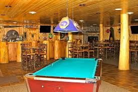 pool table in bar picture of hungry jack lodge u0026 campground