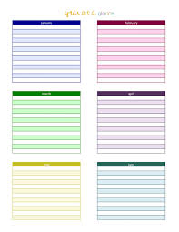 Planning Agenda Template Calendars 20142015 As Free Printable Word Templates Year At