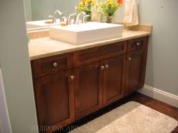 maple shaker bathroom vanity home is where the 3 is