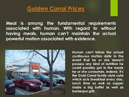 Golden Corral Buffet Breakfast by Golden Corral Buffet Price