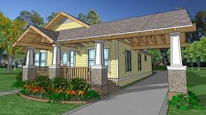 Cottage House Plans With Porte Cochere by Home Plan Homepw73045 1320 Square Foot 3 Bedroom 2 Bathroom
