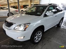 2013 white lexus rx 350 for sale 2009 lexus rx 350 awd in crystal white mica photo 6 106946