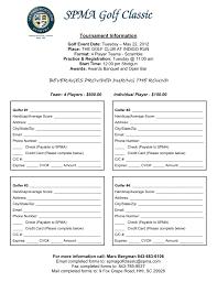 Golf Tournament Sign Up Sheet Template Sea Pines Montessori Academy Island Sc Spma Golf