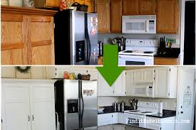 how to paint your kitchen cabinets like a professional 150 kitchen cabinet makeover find it make it love it