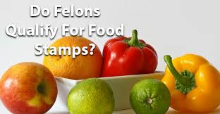 do felons qualify for food stamps