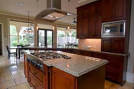 kitchen islands with cooktop kitchen island range with cooktop grey granite countertop