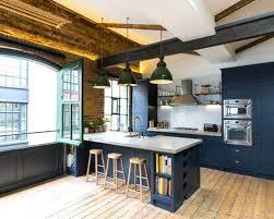 Home Design Kitchen Ideas Industrial Design Kitchen Ideas Large Galley Open Plan