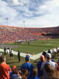 Ben Hill Griffin Stadium Map Ben Hill Griffin Stadium Section 21 Home Of Florida Gators