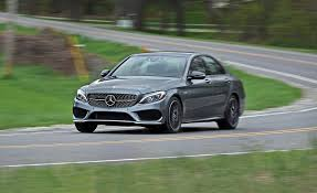 luxury mercedes sedan 2017 mercedes amg c43 sedan test review car and driver