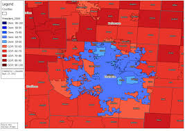 2004 Election Map by Ohio Elections Project