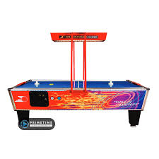 hockey time air hockey table gold flare elite primetime amusements