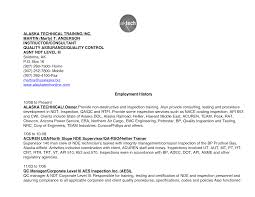 Sample Training Resume by Quality Technician Resume Free Resume Example And Writing Download
