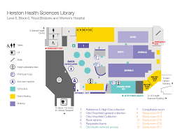 Auto Use Floor Plan by Herston Health Sciences Library Library The University Of