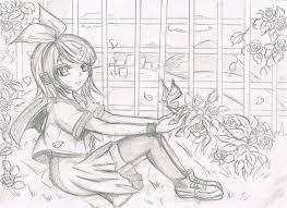 the secret garden sketch by qin ying on deviantart